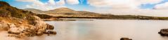 Panoramica Cala Lazzaretto (antoniosimula) Tags: sea 35mm nuvole mare ngc panoramica spiaggia alghero autofocus aperto nikond3200 alguer