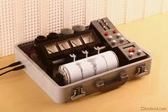 Portable Seismograph (kosbrick) Tags: vintage earthquake portable lego disaster seismograph moc npu paintroller ironbuilder