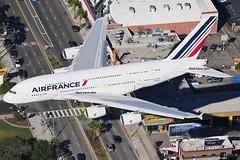 Air France Airbus A380-861 F-HPJJ (Mark Harris photography) Tags: plane canon la aircraft airbus lax spotting