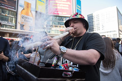 (yedman) Tags: street toronto canada weed nikon candid smoke mj 420 d750 joint dundassquare legalizeit giat yedman