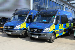 South Yorkshire Police Mercedes Sprinter Tactical Aid Units (PFB-999) Tags: public mercedes support order pov south yorkshire group police vehicle leds van grilles psu tactical sprinter tsg lightbar syp sidelights fendoffs yj10fyw yj10fyt