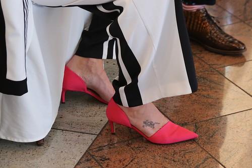 De schoentjes van de bruid  in EXPLORE 13-4-2016