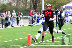 "GFL Juniors Dortmund Giants vs. Düsseldorf Panthers 09.04.2016 016.jpg • <a style=""font-size:0.8em;"" href=""http://www.flickr.com/photos/64442770@N03/26330730435/"" target=""_blank"">View on Flickr</a>"