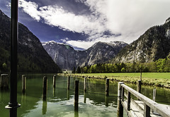 port on Knigsee (szlavid) Tags: lake alps nature water germany landscape berchtesgaden nikon knigsee d7000
