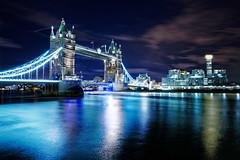 Blue River (mattrkeyworth) Tags: thames london shard night towerbridge blue sonya7rii ilce7r2 batis25 batis225