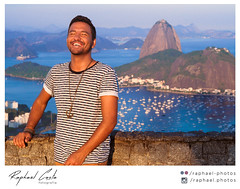Retrato-156 (Raphael Photos) Tags: blue sunset summer portrait art luz nature colors beautiful smile rio yellow riodejaneiro happy photography lights model nikon moments rj cidademaravilhosa photoshoot natureza moda modelo cristoredentor corcovado vero sorriso podeacar turismo urca carioca parquenacionaldatijuca espontnea modelomasculino nikond5000