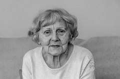 Portrait of a women (gdajewski) Tags: bw woman closeup mother poland lubin nikond7000 dajewski gdajewski nikkor18140mmf3556gdxvr