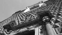 Bl&Wh (michelecolucciello) Tags: blackandwhite bw church monochrome architecture campania olympus napoli olympuspen architettura biancoenero bwphotography welcomeincampania