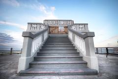 Stairway to heaven (facubertelli) Tags: argentina del canon de muelle mar los al heaven stairway escalera cielo plata efs hdr pescadores waterscape 1018mm
