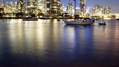 A reflective False Creek (planted city) Tags: urban skyline vancouver creek dusk cities falsecreek yvr westcoast pnw urbanism false