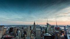 View from Top of the Rock (Luca Proietti Photographer) Tags: newyork landscapes manhattan empirestatebuilding landescape topoftherock canon1740 canon6d