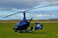 G-CIHW (Zak355) Tags: scotland aircraft aviation scottish helicopter airstrip airfield gyro bute rothesay autogyro gyrocopter isleofbute kingarth cavalon rotorsport gcihw