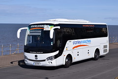 G2STX  Stanley Coaches (highlandreiver) Tags: county travel bus coach durham rally lancashire stanley co g2 stx blackpool coaches yutong g2stx