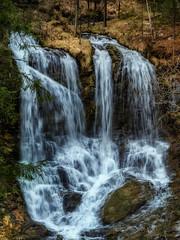 Wasserfall in der Weibachschlucht (novofotoo) Tags: bayern deutschland wasser wasserfall natur bach fluss landschaft weisbach schneizlreuth weisbachanderalpenstrase