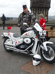 Biker soldier from The Royal Regiment of Scotland (National Museums Scotland) Tags: edinburghcastle lifesupport nationalwarmuseum nationalmuseumsscotland theroyalregimentofscotland