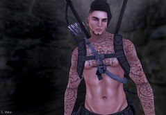 Gage (Vix Stoanes) Tags: life slut pirate second warrior rp slave warpaint roleplay dso gor gorean