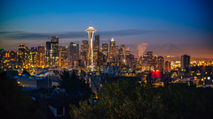 We'll Make This Dream Last Forever (John Westrock) Tags: seattle morning us washington downtown cityscape unitedstates spaceneedle kerrypark mtrainier canoneos5dmarkiii twist60optic