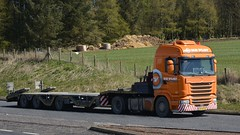 34-BFJ-9 (panmanstan) Tags: truck wagon scotland transport lorry commercial vehicle scania a90 haulage stracathro r410