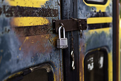 02469076-76-Master Lock School Bus-1 (Jim would like to get on Explore this year) Tags: usa southwest america lock nevada rusty places nelson april schoolbus mojavedesert 2016 eldoradocanyon nearlasvegas canon5dmarkiii tamron45mmf18divcusd