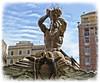 Roma 29/04/45: Dettagli della fontana del Tritonr (paolocannas) Tags: fontanadeltritone piazzabarberini bernini roma lazio italia