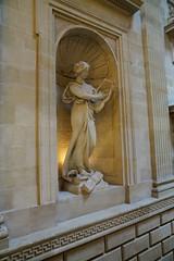 Muse sculpture, Grand Théâtre, Bordeau (jozioau) Tags: variosonnart282470 bordeaux muse sculpture lobby grandthéâtre