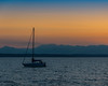 Sailboat and Sunset (briburt) Tags: goldengardens beach boats clouds skies sun briburt nikon d50 18200 pugetsound olympicmountains boat sail sailboat mountains horizon sunset silhouette amazing stunning view nature sky landscape peaceful tranquil zen