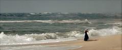 Blowin' in the wind (coollessons2004) Tags: atlanticocean wind woman beach beauty beautiful diamondclassphotographer flickrdiamond