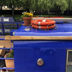 Regent's Canal Walk (Tom Willett) Tags: canal walk regentscanal iphone square paddingtonbasin barge boat canalboat longboat towpath