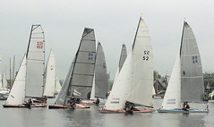 Three Rivers race start Horning Norfolk UK (#Dave Roberts#) Tags: dailing race 2rr bure thurne ant broads nofrolk uk cloud light wind boats sail sails river water white wooden boat tradition traditional 58th june 2018 spring