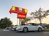 Cars and Burgers (chng8) Tags: apple iphone x seattle washington dicks drive in burgers holman road porsche 911 carrera 964 bmw 325i e30 mcoupe e368 clownshoe coupe grand prix white car neon sign usa