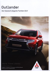 Mitsubishi Outlander - Der klassisch-elegante Familien-SUV;  2017_1, car brochure (World Travel Library - collectorism) Tags: mitsubishi mitsubishioutlander 2017 carbrochurefrontcover frontcover suv moving red car brochure automobil papers prospekt catalogue katalog vehicle transport wheels makes models model automobile automotive cars سيارة 車 worldcars motor motoring drive wagen fahrzeug photos photo photography picture image collectible collectors collection sammlung recueil collezione assortimento colección ads online gallery galeria japanese japan documents dokument broschyr esite catálogo folheto folleto ब्रोशर брошюра broşür