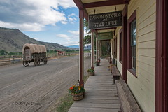 The Roadhouse (joeinpenticton Thank you 2.1 Million views) Tags: hat creek ranch museum road house roadhouse cache joe penticton jose garcia bc british columbia wagon express covered stage coach office fence coral paddock history historical roadtrip trip