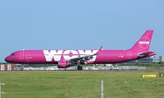 TF-WIN Airbus A321-211SL WOW Air (R.K.C. Photography) Tags: tfwin airbus a321211sl a321211 a321 wowair iceland aircraft airliners aviation sharklets essex england unitedkingdom uk stn egss londonstanstedairport