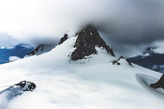 Somewhere in Juneau (- Anthony Papa -) Tags: alaska juneau helicopter mountains snow beautiful nature scenery america usa canon 5dmkii dslr anthony papa clouds low landscape white 4k
