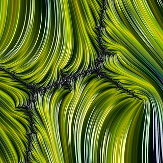 Green Fractal Abstract