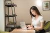 DSC_8530 (Robin Huang 35) Tags: 陳郁晴 羽晴 min 金獅取水 咖啡廳 人像 portrait lady girl nikon d850 相機 xt2 camera nb notebook laptop vaio 筆電 筆記型電腦