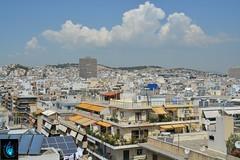 Athens skyline (Ibrahim D Photography) Tags: athens skyline sky clouds sun sunshine holiday vacation travel greece rooftops city cityscape urban