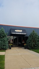 Doorhood awning over a commercial business (kreiderscanvas) Tags: doorhood awning canopy fabric canvas vinyl commercial facade sign graphics lettering cover shade protection lancaster pa kreiders reading custom sewing made usa america readingpamadeinusa madeinamerica fixed