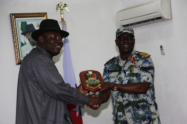 HSDickson- Courtesy call by Chief of Staff 26th March 2013