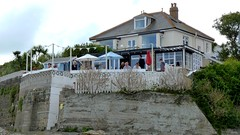Rockpool Cafe, Mousehole, Cornwall, England (Joseph Hollick) Tags: england cornwall mousehole cafe restaurant rockpool