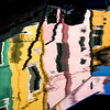 Burano - Reflets des maisons. (Gilles Daligand) Tags: venise burano reflets eau canal maisons