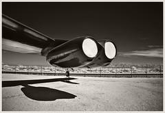 Pima A&S IR #31 2018; B-52 Engines (hamsiksa) Tags: aviation flight flying aircraft airplanes aeroplanes jets military bombers b52 wing engines museums airmuseums aviationmuseums historic historicaircraft usairforce pimaairandspacemuseum arizona tucson