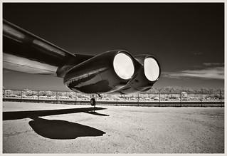 Pima A&S IR #31 2018; B-52 Engines