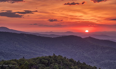 Peek-a-Boo (dngovoni) Tags: shenandoah virginia clouds landscape landscapemountain mountains sunrise trees