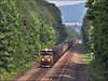 Solo (Images by A.J.) Tags: train railroad railway laurel highlands pennsylvania westmoreland greensburg norfolk southern coal freight transportation pittsburgh line gevo es44ac