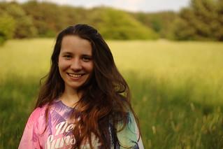 Portrait on meadow