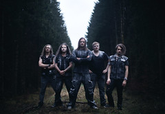 A Feast For Crows (Arr Hart) Tags: arrhart arr hart band music metal metalmusic musicphotography intothewoods forest male flour dark grain dust winter cold path