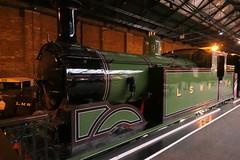 LSWR245-07 (Ian R. Simpson) Tags: 245 londonsouthwesternrailway lswr m7 044t tankengine steam engine locomotive loco nationalrailwaymuseum nrm york 30245 southernrailway britishrailways nrmojectnumber{19787020} yorkshire england uksteam preserved