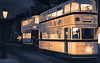 9515SETS2 The Last Tram (foxxyg2) Tags: art topaz topazsoftware niksoftware silverefex trams transport tramways history crich crichtramwayvillage nationaltramwaymuseum le derbyshire publictransport topazstudio longexposure