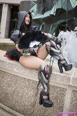 Burlesque Reaper cosplay (The Doppelganger) Tags: burlesque reaper overwatch videogame cosplay cosplayer sexycosplay genderbent fishnets heels fishnetstockings zenkaikon zenkaikon2018